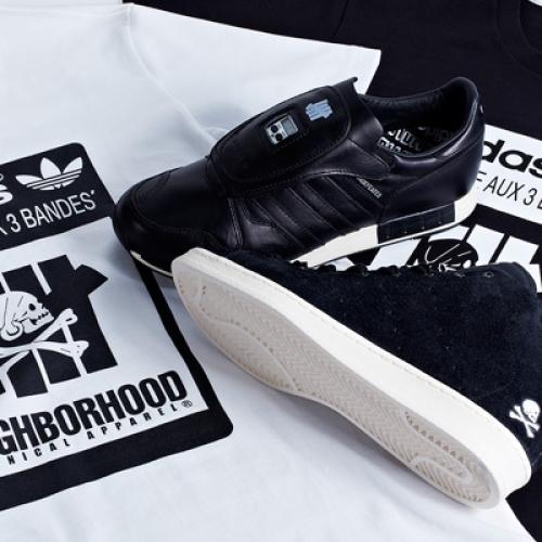 adidas Consortium x UNDEFEATED x NEIGHBORHOOD 2014 SS コレクションが発売