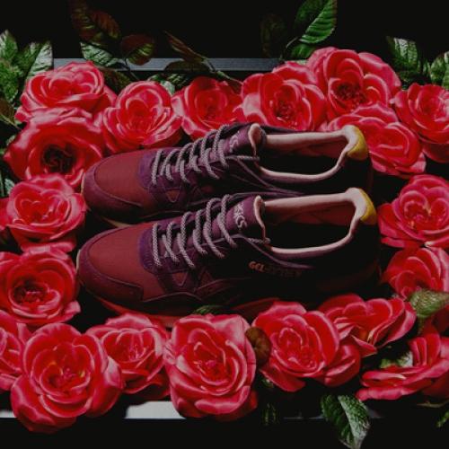 """アシックスは、mita sneakersとのコラボレーションモデル asics GEL-LYTE V """"Dried Rose"""" を発売"""