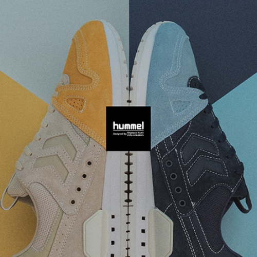ヒュンメルは、mita sneakersクリエイティブディレクター国井氏のディレクションによるMARATHONA OGを発売