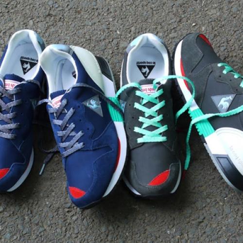 mita sneakers 国井栄之氏がカラーディレクションを手掛けた le coq sportif EUREKA が発売