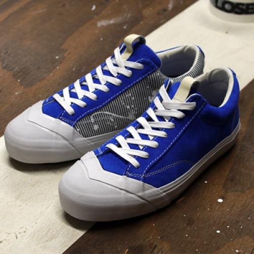 "LOSERS デザイナー sneakerwolf氏がドリッピング加工を施した LOSERS SCHOOLER LO ""Cobalt"" ""mita sneakers x sneakerwolf""を発売"