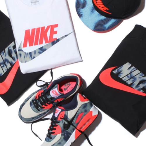 NIKE BLEACHED DENIM PACK が Sports Lab by atmos LUCUA OSAKA のオープンに合わせ先行発売