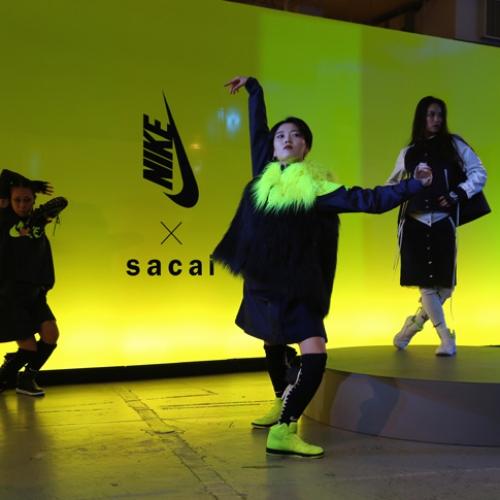 NikeLab x sacaiがスポーツウェアの定番に暖かく贅沢なひねりを加えた秋冬のコレクションを発表
