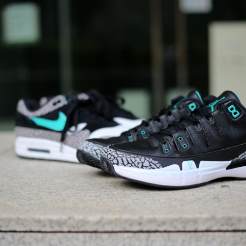 "NIKE COURT ZOOM VAPOR RF X AIR JORDAN 3 ""atmos""がSports Lab by atmos Shinjukuにて世界先行発売"