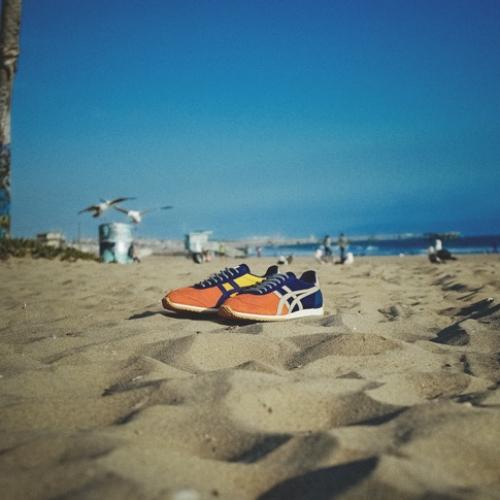 """オニツカタイガーから、mita sneakersとのコラボレーション第二弾CALIFORNIA 78 """"Tequila Sunrise""""が登場"""