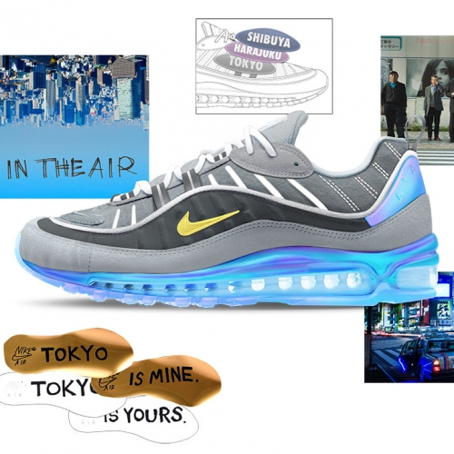 Nike: On Airスニーカーデザインプログラム、世界の6大都市の特徴的なカルチャー要素を生かした未来のナイキ エアに投票しよう