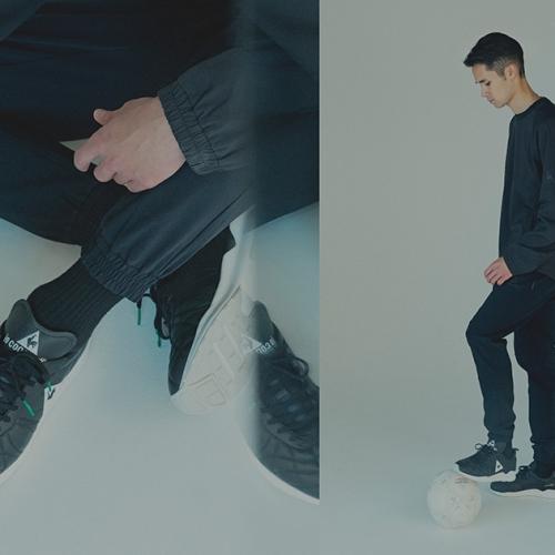 ルコックスポルティフは、mita sneakersとのコラボレートモデルPLUME X RUNを発売