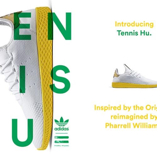 アディダス オリジナルスの名作スタンスミスからインスパイアされた、adidas Originals = PHARRELL WILLIAMS Tennis Huが登場