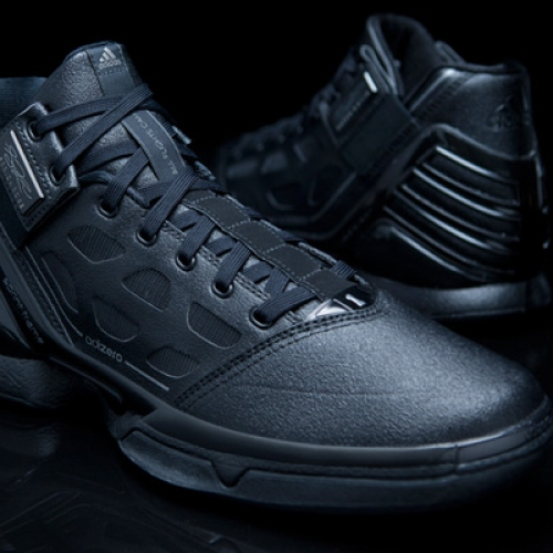 "adidas adiZero Rose 2 ""Triple Black"""