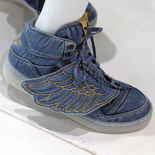 Jeremy Scott x adidas Originals by Originals Denim Wings