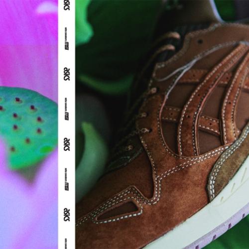 アシックスタイガーは、Lotus Pondと名付けられたmita sneakersとのコラボモデルを発売