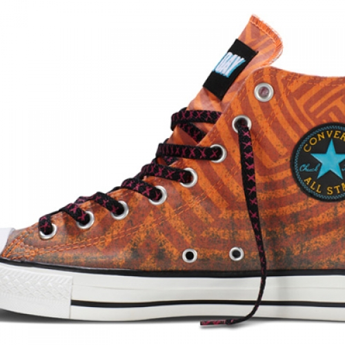 Green Day x Converse Chuck Taylor All Star Hi
