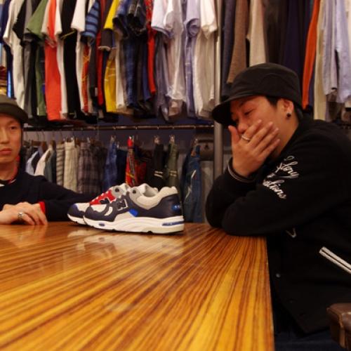 Interview with WHIZ LIMITED Hiroaki Shitano x mita sneakers Shigeyuki Kunii