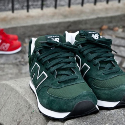Kith NYC x New Balance 574 Made in USA Pack