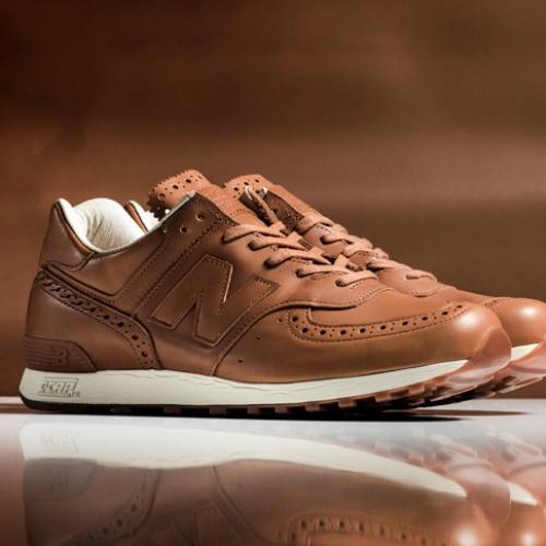ニューバランスは、老舗英国革靴の名門Grensonとのコラボレーションモデルを発売