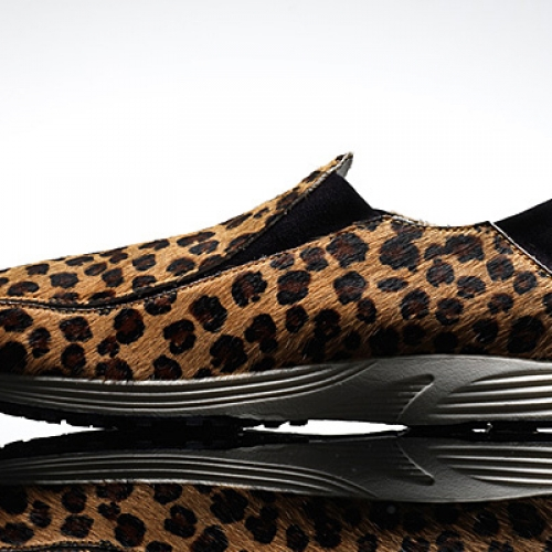 Nike WMNS Pocket Runner | Leopard + Black Pony Hair