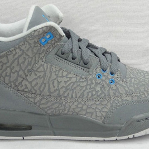 "AIR JORDAN 3 GS ""GREY FLIP"""