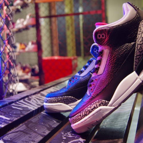 "NIKE AIR JORDAN III RETRO ""LIMITED EDITION for NONFUTURE"""