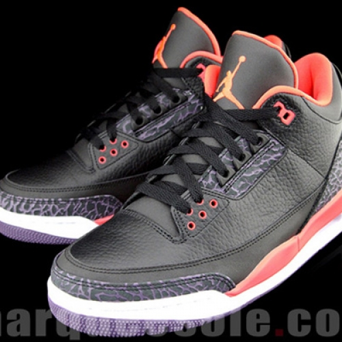 AIR JORDAN 3 BRIGHT CRIMSOM