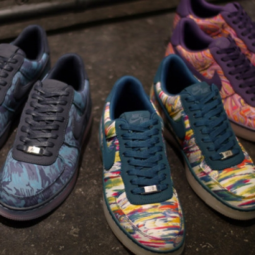 LIBERTY x NIKE AIR FORCE I DOWNTOWN LIMITED EDITION for NONFUTURE