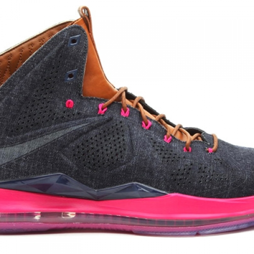 NIKE LEBRON X EXT DENIM QS
