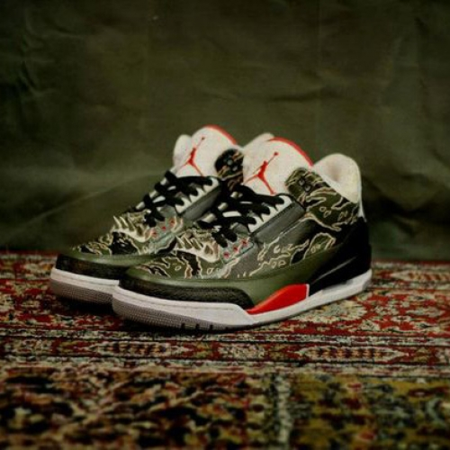 "Air Jordan 3 ""Spitfire"" by SBTG"
