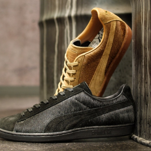 Puma JAPAN FIRST ROUND LO SUEDE FUR 「made in JAPAN」