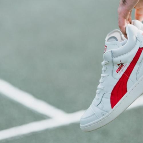 ドイツテニス界のスター選手BORIS FRANZ BECKER氏のシグネチャーモデル Puma BECKER OG LEATHER が復刻