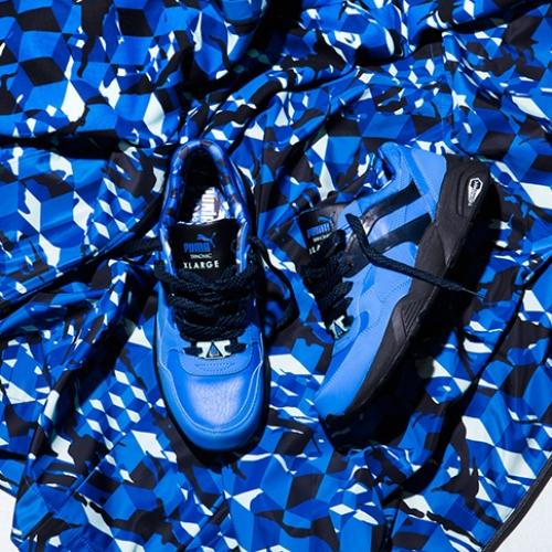 XLARGE® x PUMA R698 Closer Look