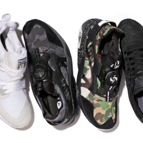 PUMAは、A BATHING APE®とコラボレートしたPUMA x BAPE® COLLABORATION COLLECTIONを発表