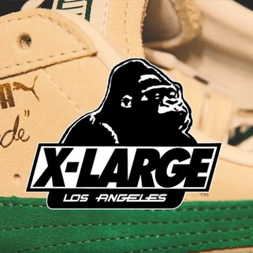"""XLARGE® x PUMA x mita sneakersのリリースを記念して、オリジナルラップソング""""CLYDE""""を発表"""
