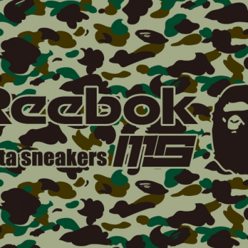 "Reebok INSTA PUMP FURY OG ""A BATHING APE® x mita sneakers"" が発売"