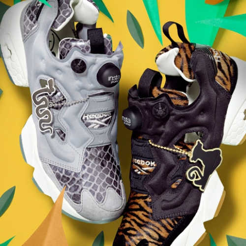 """リーボック クラシックから、ディズニー映画最新作""""ジャングル・ブック""""とのコラボモデルInstapump Fury """"The Jungle Book""""が登場"""
