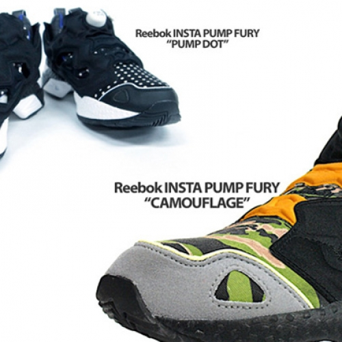 Reebok INSTA PUMP FURY 「CAMOUFLAGE」 「PUMP DOT」  mita sneakers Collaboration