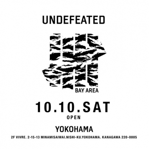 UNDEFEATEDは横浜ビブレに新店舗をオープン