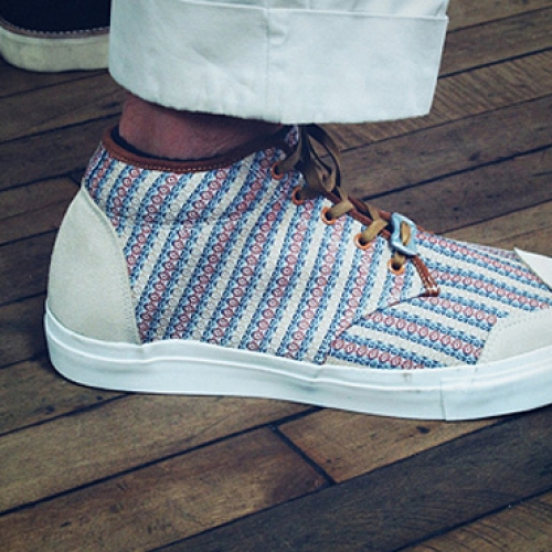 White Mountaineering Mid Top Sneakers Spring/Summer 2012
