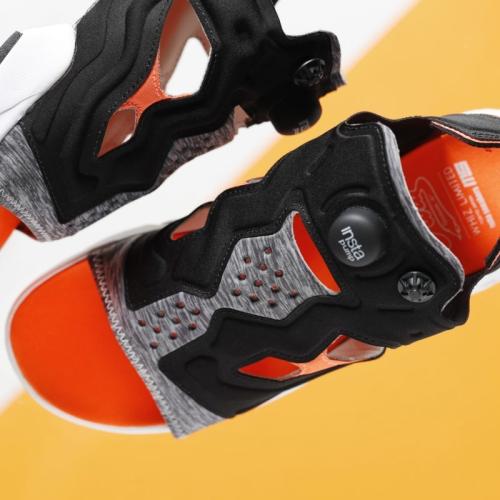 リーボックは、WHIZ LIMITEDとmita sneakersのコラボレートモデルINSTAPUMP FURY SANDAL MXWを発売