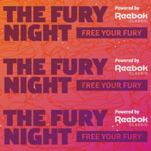 リーボック クラシックは、Instapump FuryとFuryliteをテーマにしたイベントTHE FURY NIGHTを開催