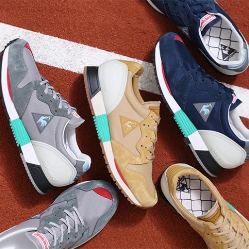 ルコックスポルティフから、mita sneakersクリエイティブディレクター国井氏がカラーディレクションを手掛けたEUREKAがリリース