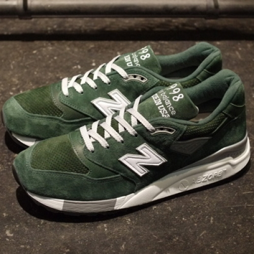 "new balance M998 ""made in U.S.A."" ""LIMITED EDITION for mita sneakers / OSHMAN'S"""