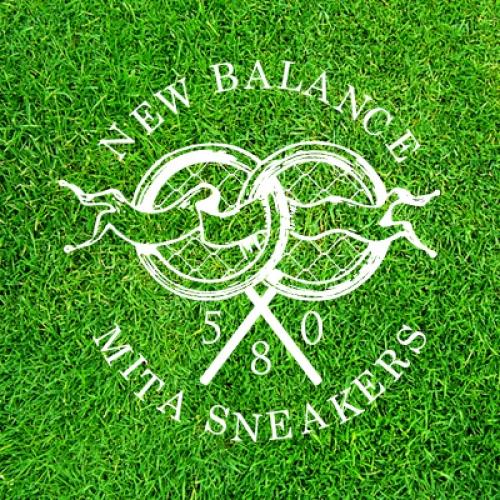 """テニスボールから着想を得たnew balance MRT580 """"The Battle of Surfaces"""" """"mita sneakers""""がゲリラリリース"""