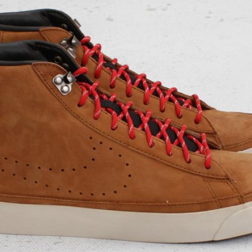 """Nike Blazer Mid Premium """"ACG"""" – Hazelnut / Sport Red"""