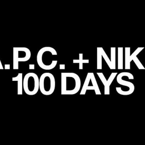 A.P.C. x NIKE – 100 DAYS TEASER