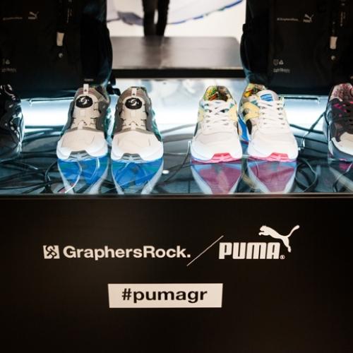 PUMA x GraphersRock Capsule Collection Launch Recap