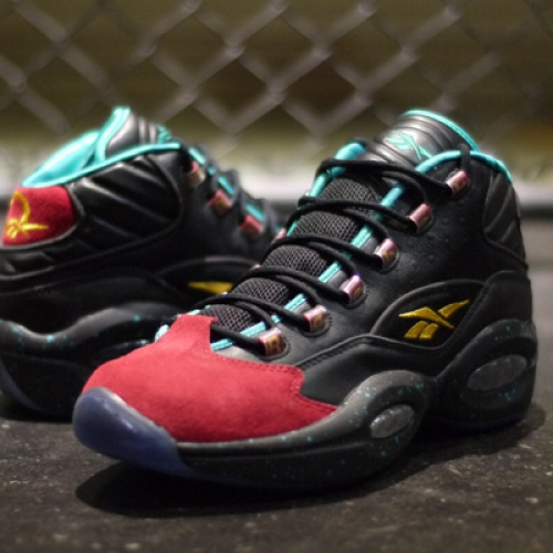 "BURN RUBBER x Reebok QUESTION MID ""LIMITED EDITION"""