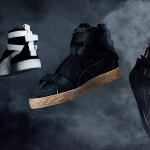 プーマより、ブランドアンバサダーのThe Weekndとのスウェードのスペシャルモデルを発売