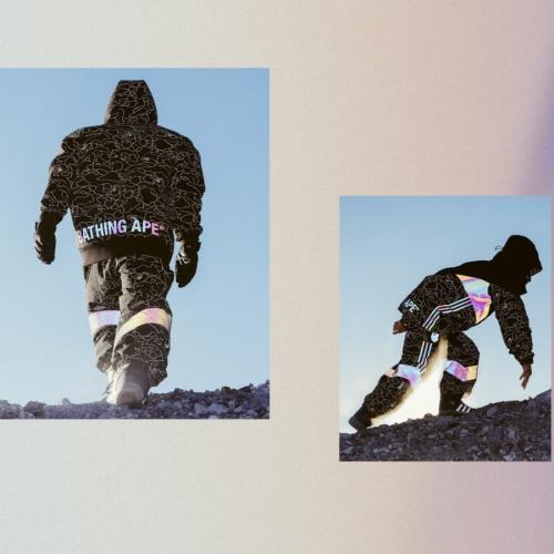 アディダス スノーボーディングから、ストリートウェアブランド A BATHING APE® とのコラボレートコレクション adidas Snowboarding by BAPE® が登場
