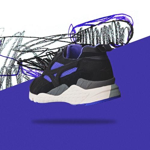"""ミズノから、mita sneakers とのコラボレートモデル MONDO CONTOROL """"PURPLE SYRUP"""" が登場"""