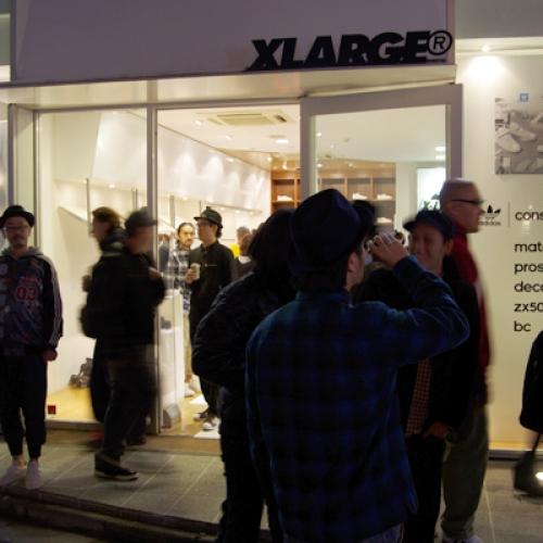 adidas Originals Consortium Relaunch Party Recap