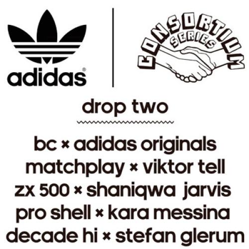 adidas Originals for CONSORTIUM YOUR STORY DROP 2